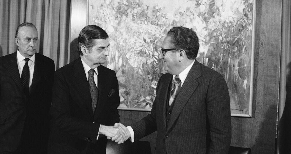 Δημήτρης Μπίτσιος και ο Χένρι Κίσινγκερ