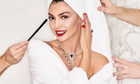 Δες τη super hot εμφάνιση της Κέισι του GNTM με mini λευκό φόρεμα