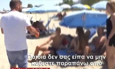 Κορονοϊός - Έλεγχοι: Λιποθύμησε ιδιοκτήτης beach bar με το πρόστιμο (vid)