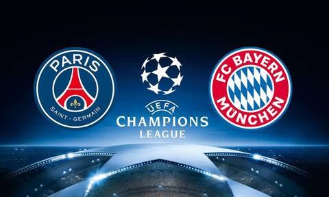Παρί Σεν Ζερμέν-Μπάγερν Μονάχου: Η ώρα και το κανάλι του μεγάλου τελικού του Champions League