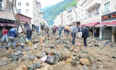 Τουρκία: Νεκροί και αγνοούμενοι από ξαφνικές πλημμύρες στην Κερασούντα