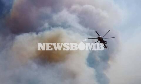 Φωτιά στη Μάνη: Συνεχίζεται η μάχη της κατάσβεσης - Ενισχύονται οι πυροσβεστικές δυνάμεις