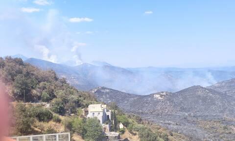 Φωτιά Λακωνία: Εικόνες Αποκάλυψης στην Ανατολική Μάνη - Στάχτη πάνω από 40.000 στρέμματα
