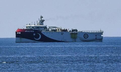 Δεν φεύγουν οι Τούρκοι: Νέα NAVTEX για παραμονή του Oruc Reis στην ελληνική υφαλοκρηπίδα