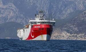 Турция продлила до 27 августа нахождение своего судна на греческом шельфе