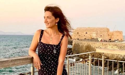Λασκαράκη: Πήγε στο σπίτι της πεθεράς της στην Κρήτη-Το υπέροχο τραπέζι