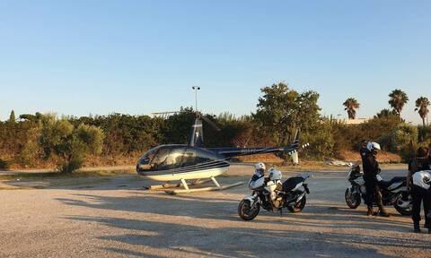 Αναγκαστική προσγείωση ελικοπτέρου στο γκολφ Γλυφάδας