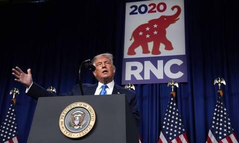 Προεδρικές εκλογές ΗΠΑ: Ο Τραμπ εξασφάλισε επίσημα το χρίσμα των Ρεπουμπλικανών