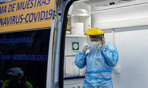 Κορονοϊός: Σε «κατάσταση καταστροφής» η Χιλή – Πλησιάζουν τους 11.000 οι νεκροί