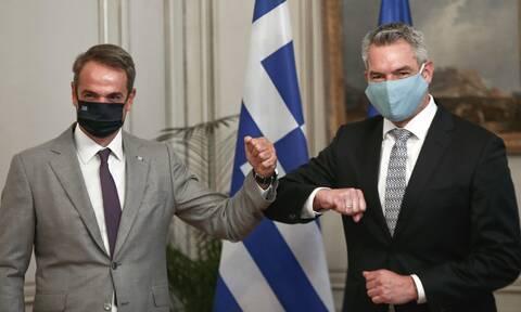 Nehammer expresses confidence in Greek government's handling of migration