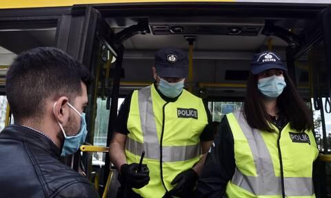 Κορονοϊός - Συνεχίζονται οι εντατικοί έλεγχοι: «Βροχή» τα πρόστιμα για μάσκα