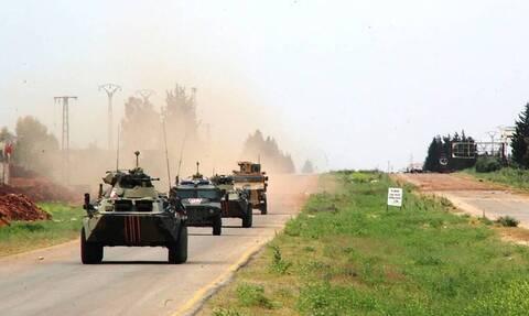 Российские военные попали под обстрел при патрулировании в Сирии