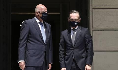 Глава МИД Германии Хайко Маас провел визит в Афины