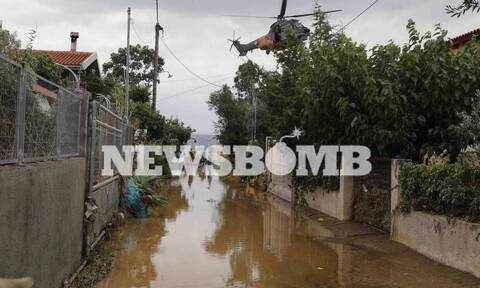 Πλημμύρες στην Εύβοια: Τα μέτρα για την ανακούφιση των πληγέντων