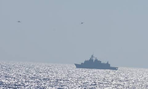 Νέα απάντηση στην Τουρκία: Ξεκινά τριήμερη αεροναυτική άσκηση Κύπρου - Ελλάδας - Γαλλίας - Ιταλίας