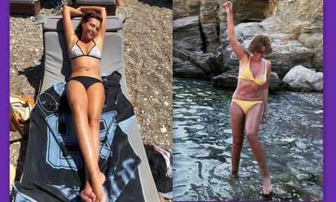 Αλεξάνδρα Παλαιολόγου: Έτσι είναι το κορμί της στα 52 της(Photos)