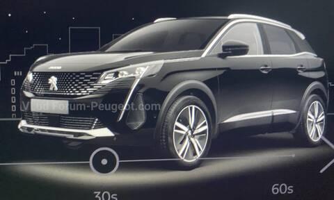 Η ανανεωμένη έκδοση του Peugeot 3008 θα παρουσιαστεί την 1η Σεπτεμβρίου