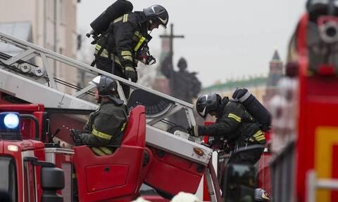 Ρωσία: Έκρηξη σε πενταώροφο κτήριο στη Μόσχα