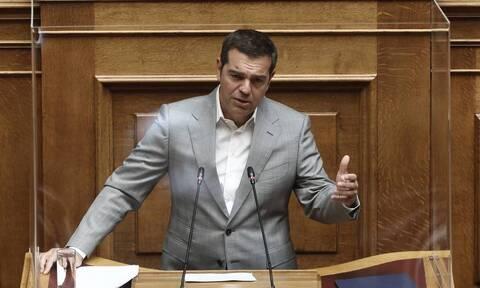 Τσίπρας Βουλή: Η κυβέρνηση αδυνατεί να υπερασπιστεί τα κυριαρχικά μας δικαιώματα