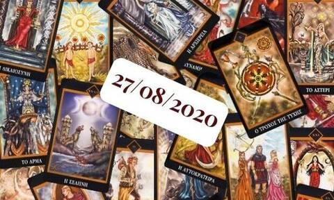 Η ημερήσια πρόβλεψη Ταρώ για σήμερα 27/08!