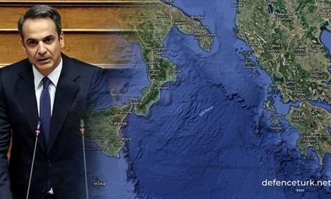 «Πάγωσαν» οι Τούρκοι με την ανακοίνωση Μητσοτάκη για τα χωρικά ύδατα – Τι γράφουν