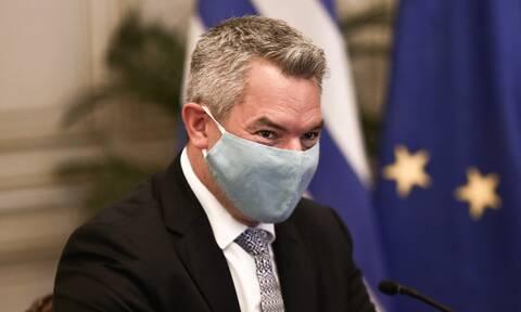 Αυστριακός ΥΠΕΣ στη Χίο: Χρηματοδότηση 2 εκατ. ευρώ στην Ελλάδα για το μεταναστευτικό