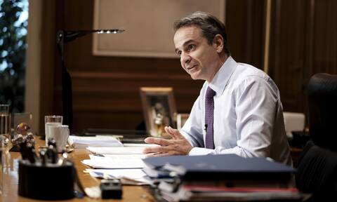 PM Mitsotakis: Our action at sea is not only national but also humanitarian