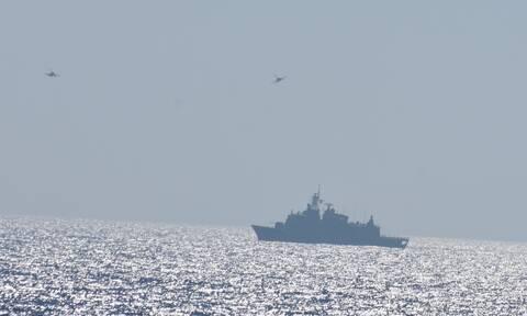 «Τείχος» και στην Κύπρο: Ελληνικά και γαλλικά μαχητικά πάνω από τη Μεγαλόνησο