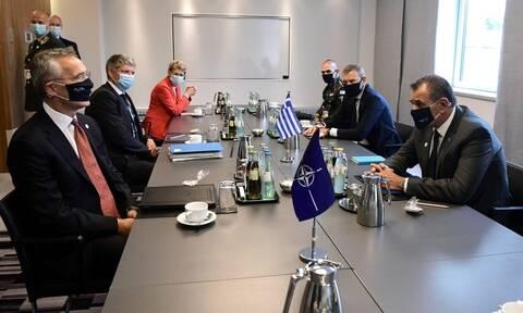 Παναγιωτόπουλος προς ΝΑΤΟ και ΕΕ: Μη αποδεκτή η πολιτική των ίσων αποστάσεων