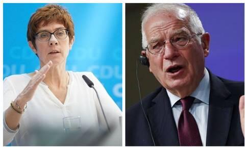 Κρίση Ελλάδας - Τουρκίας: Αποκαλύψεις από Μπορέλ - Καρενμπάουερ! Δεν κατάλαβαν το ανοιχτό μικρόφωνο
