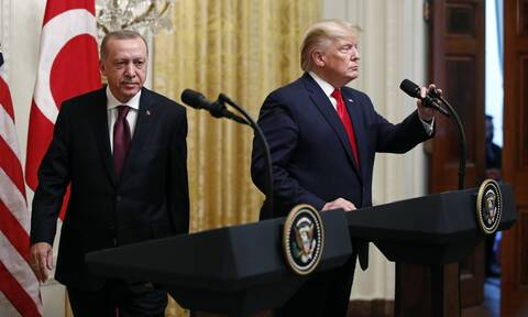 Ερντογάν σε Τραμπ: Η Τουρκία είναι υπέρ της μείωσης των εντάσεων και του διαλόγου