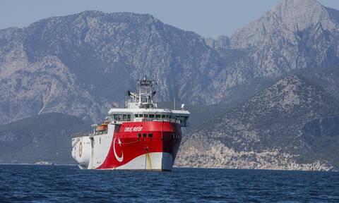 Τουρκικά ΜΜΕ: Το Oruc Reis ίσως φτάσει έως και το Καστελόριζο -Δεν θα επιστρέψει σήμερα στην Τουρκία