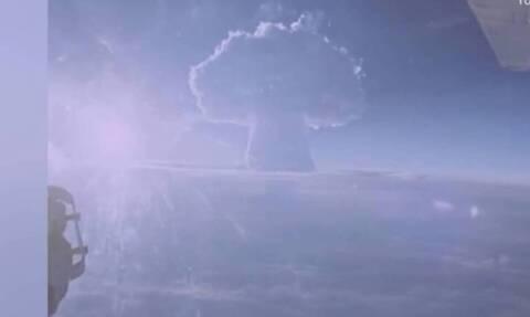 Δημοσιεύθηκε βίντεο από τη δοκιμή της «Tsar Bomba» - 3.333 φορές πιο ισχυρή από εκείνη της Χιροσίμα