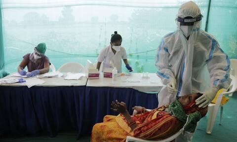 Κορονοϊός - Ινδία: Ρεκόρ κρουσμάτων και 1.023 θάνατοι σε 24 ώρες