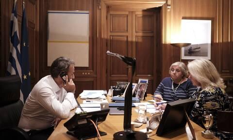 Eπικοινωνία Μητσοτάκη - Τραμπ: Η λεπτομέρεια από το τηλεφώνημα που δεν πρόσεξε κανείς (pics)