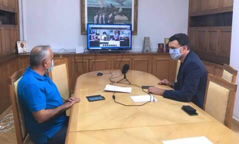 Κορονοϊός - Κικίλιας: Συμμετείχε σε τηλεδιάσκεψη με τους υπουργούς Υγείας των Δυτικών Βαλκανίων