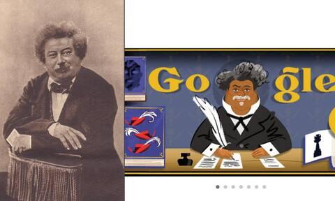 Αλέξανδρος Δουμάς: Η Google τιμάει τον σπουδαίο Γάλλο συγγραφέα