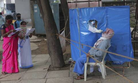 Κορονοϊός - Ινδία:77.266 κρούσματα σε 24 ώρες