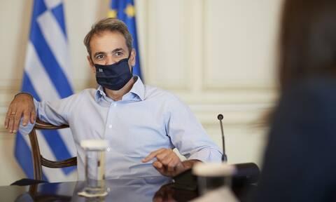 Βάσεις 2020 - Μητσοτάκης: «Τον έπαινο, φέτος, τον δικαιούνται όλα τα Ελληνόπουλα»