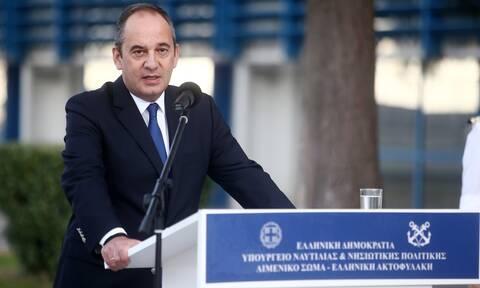 Πλακιωτάκης: Απόλυτη επάρκεια στο διπλό και κρίσιμο ρόλο του Λιμενικού Σώματος
