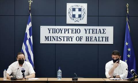 Κορονοϊός: Δείτε LIVE την ενημέρωση του υπουργείου Υγείας από Μαγιορκίνη και Χαρδαλιά