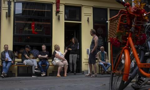 Κορονοϊός: Το Άμστερνταμ καταργεί την υποχρεωτική χρήση μάσκας στους δημόσιους χώρους