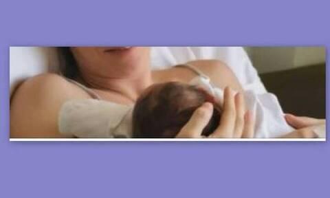 Γέννησε γνωστή Ελληνίδα - Η πρώτη φωτό με το μωρό