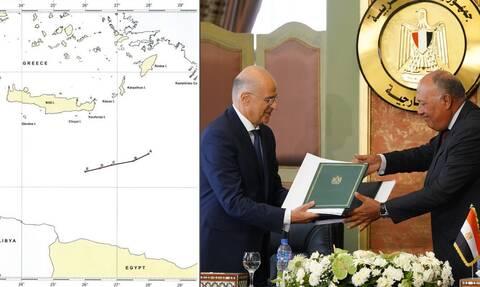 Αυτή είναι η συμφωνία της Ελλάδας με την Αίγυπτο και την Ιταλία για την ΑΟΖ