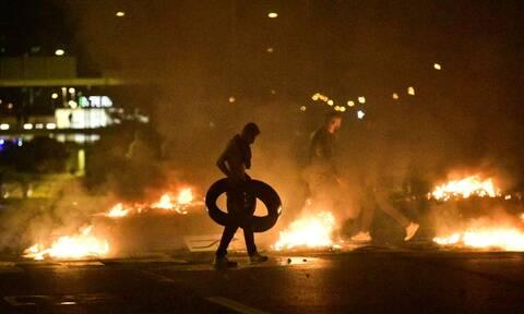 Σουηδία: Νύχτα ταραχών στο Μάλμο μετά από συγκέντρωση ακροδιεξιών (pics)
