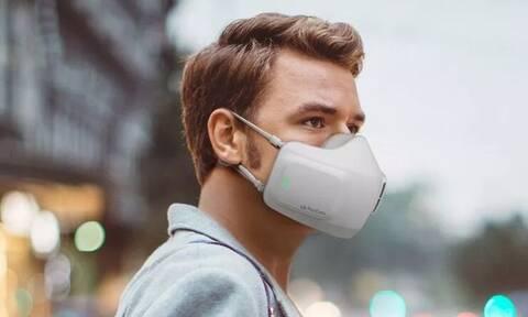 Κορονοϊός: Ήρθε η επαναφορτιζόμενη μάσκα με φίλτρο καθαρισμού αέρα (photos)