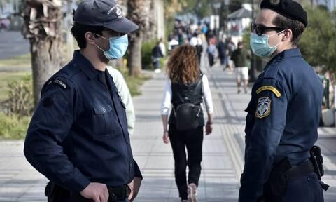 Χαλκιδική: Θετικοί στον κορονοϊό τρεις αστυνομικοί