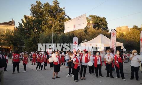 Ρεπορτάζ Newsbomb.gr: Διεθνής Ημέρα Εξαφανισμένων -Εκδήλωση του Ελληνικού Ερυθρού Σταυρού στο Θησείο