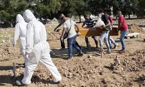 Κορονοϊός στη Βραζιλία: Ξεπέρασαν τους 120.000 οι νεκροί