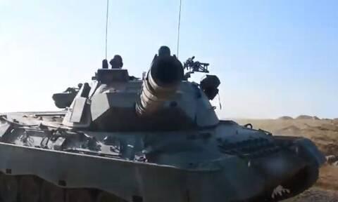 Ηχηρό μήνυμα από τις Ένοπλες Δυνάμεις - Εντυπωσιακά video από ασκήσεις με βολές